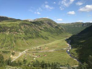 Norwegen - Weitblick offenes Tal